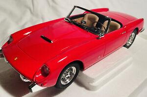 1/18 Matrix 1957 Ferrari 250 GT Pininfarina Cabriolet, Red, MIB, Beautiful!!