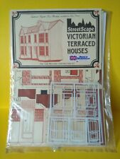 O Gauge Victorian Terraced Houses Low Relief Kit