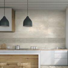 10x10cm Sample of 90x30cm Silex Beige Stripe Beige Wall Tile (1 SQM = 3.7 Tiles)