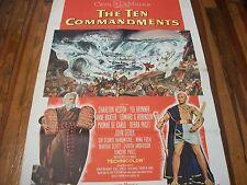 The Ten Commandments   original 1  A sheet  1956