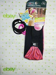 Scunci Everyday & Active Ultra Comfy Headband With Elastics 6 Piece Set Pink New