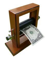 STAGE SIZE MONEY MAKER PRINTER Magic Trick Dollar Bill Machine Print Change Fake