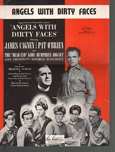 Angels With Dirty Faces 1938 James Cagney Sheet Music