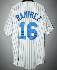 CHICAGO CUBS BASEBALL JERSEY MLB MAJESTIC #16 ARAMIS RAMIREZ PINSTRIPE