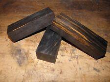 Messergriffblock Holz Mooreiche 120x30x40 mm knife scales handle block  bog oak
