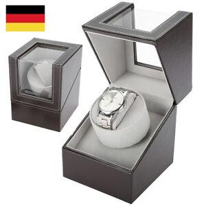Automatik Uhrenbeweger Uhrenbox Uhrenkasten Watch Winder Box Holz Für 1 Uhre DE