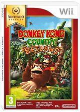 DONKEY KONG COUNTRY RETURNS TEXTOS EN CASTELLANO NUEVO PRECINTADO Wii