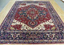 12'X15' New Hand knotted Wool Super Heriz Serapi Oriental large area rug