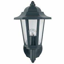 Azalea Dark Grey Uplighter 6Sided Lantern Outdoor Wall light Weather Proof/Rain