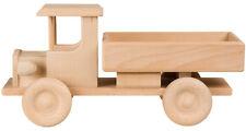 Camión Coche de Madera Camión Vehículo Carretera Camión Auto Haya L32xB13xH16