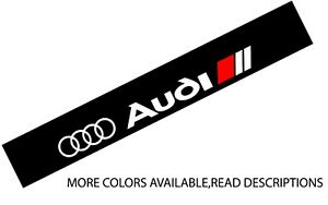 Windshield decal car sticker low motorsports banner graphics For/fits Audi car