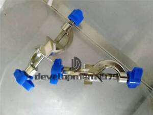 1PCS New blue Lab Stands BOSS HEAD Clamps Holder, Cross Clamp Holder Rod Rack