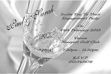 10 Personalised Engagement Invitations