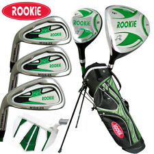 JUNIOR LH GOLF SET 7 PCE for KIDS 7 to 10yrs WITH HYBRID - CHILDRENS GOLF CLUBS
