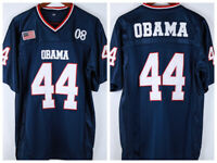 Barack Obama #44 Men's Football Jersey All Stitched