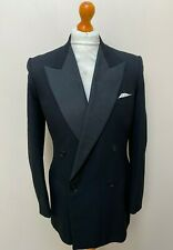 Vintage 1950's double breasted dinner jacket size 38