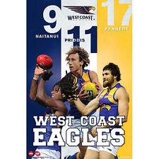 AFL - West Coast Eagles Players Poster 61x91cm Kennedy Naitanui Priddis