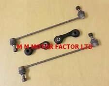 SAAB 93 9-3 (02-) FRONT AND REAR STABILISER ANTI ROLL BAR DROP LINKS LINK BARS