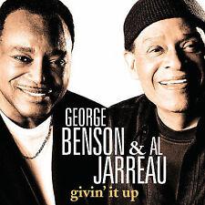 GEORGE BENSON (GUITAR)/AL JARREAU - GIVIN' IT UP (NEW CD)