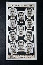 Bolton Wanderers   1929  FA Cup Winning Team  Original 1930's Photo Card  VGC