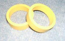 2 caoutchoucs jaunes standard pr doigts de flipper