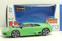 Bburago 30010 StreetFire Lamborghini Murcielago LP640 - Verde - METAL Scala 1:43