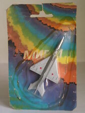 OLD BULGARIAN MATCHBOX SKY BUSTERS MIG 21 No.10 FIGHTER JET EARLY ISSUE RARE MOC