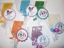 12 Dreamworks Trolls Themed Gourmet 5th Birthday Party Favors with custom tags