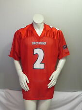 Simon Fraser Football Jersey - Home Red # 2 Nathaneal Durkan - Men's Large