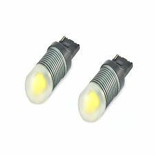 2x LED T20 3157 Bulbs Canbus White COB 3D LED To Fit Side Light Fiat 500 C 312