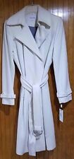 Ivory Maxi Wool Coat with Belt by Calvin Klein, Size 6, NWT/Defect