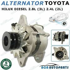 Alternator TOYOTA HILUX 2.8L (3L) 2.4L (2L) DIESEL 1985-1993 High Output 80AMP