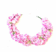 Hot Pink Gypsophila Baby's Breath Blossom Flower Garland Headband Festival 1345