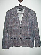 Pret-a-Porter Vintage Gray Boucle Tweed Petite Women's Jacket