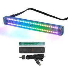 Dual 30 Level Indicator Colorful Music Audio Spectrum Vu Meter Speed With Agc