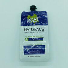 Splat Naturals Purple Semi Permanent Hair Color 6 oz Up To 30 Washes New