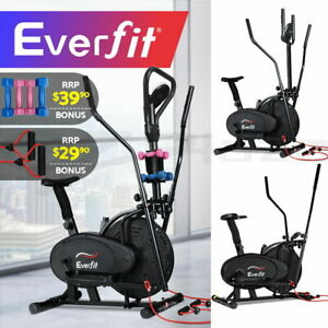 Everfit Elliptical Cross Trainer Exercise Bike Bicycle Home Gym Fitness Training