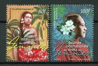 French Polynesia 2019 MNH Intl Day of Womens Rights 2v Set Cultures Stamps