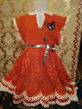 Mädchen Kleid Kinder Prinzessin Party Kostüm Sommerkleid Handarbeit 2-7Jahre