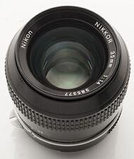 Nikon Nikkor Ai 35mm 35 mm 1:1.4 1.4 manuell Objektiv *Fachhändler