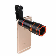 Clip-on 12x Optical Zoom HD Telescope Camera Lens For Universal Mobile Phone!