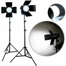 2 x Photo Studio Photography Light Led Lighting Stand Kit 3300lm Day Light Lamp