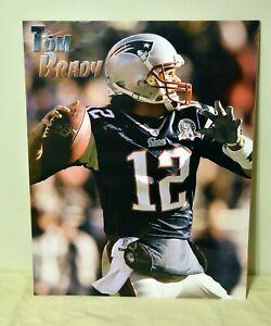 TOM BRADY SuperBowl Super Bowl New England Patriots NFL Football 16x20 Poster