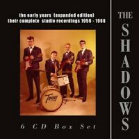 THE SHADOWS - EARLY YEARS(EXPANDED EDITION)1959-1966,THE 6 CD NEU