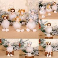 UK Christmas Gift Xmas Tree Hanging Pendant Angel Doll Ornament Home Table Decor
