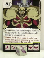 YU-GI-OH dice Masters - #102 Summoned Skull-Lightning Strike-Base Set