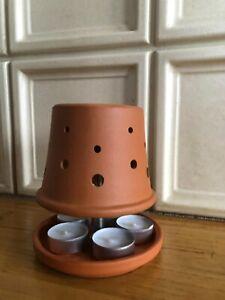 Teelichtofen in besonderem Design