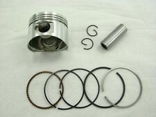 125cc PISTON and RINGS (52.4mm) FOR CHINESE SCOOTERS WITH 125cc GY6 MOTORS