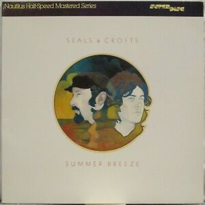 SEALS & CROFTS Summer Breeze LP Nautilus SuperDiscs Audiophile Press Half-Speed
