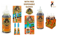 Gorilla Glue With Free Gloves Multi Purpose Wood Super Glue Strong Adhesive UK